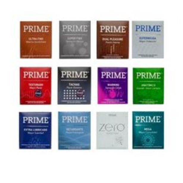 Oferta de Preservativos Prime Surtidos 36 U. por $1,65