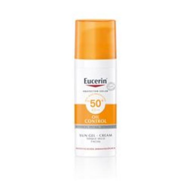 Oferta de Gel Facial Eucerin Oil control 50 Ml. 1 U. por $1,09