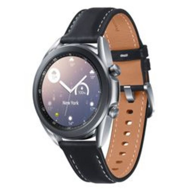 Oferta de SmartWatch Samsung Galaxy Watch 3 41mm. Plata Negro por $42,999