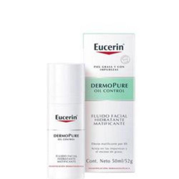 Oferta de Gel Facial, Ojos Eucerin Dermopure Matificante 50 Ml. 1 U. por $1,644