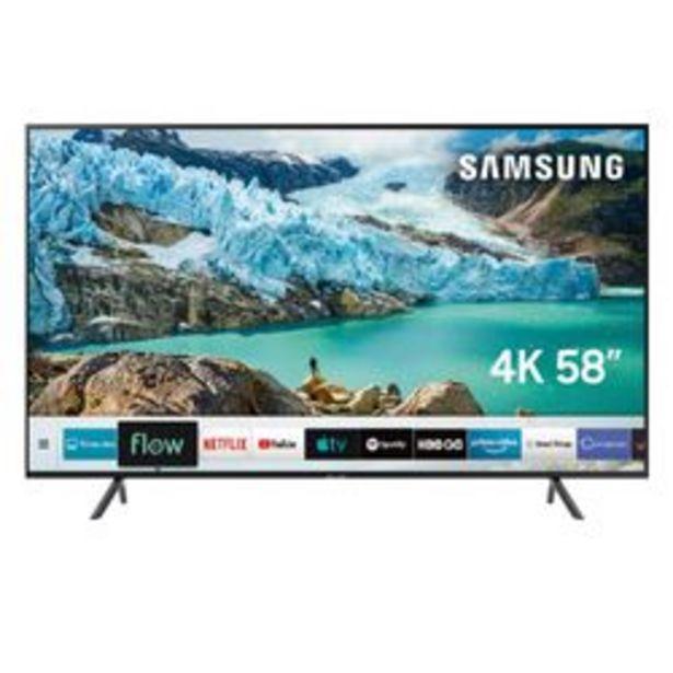 "Oferta de Smart TV Samsung 58 "" 4K Ultra HD UN58RU7100GCZB por $74,999"