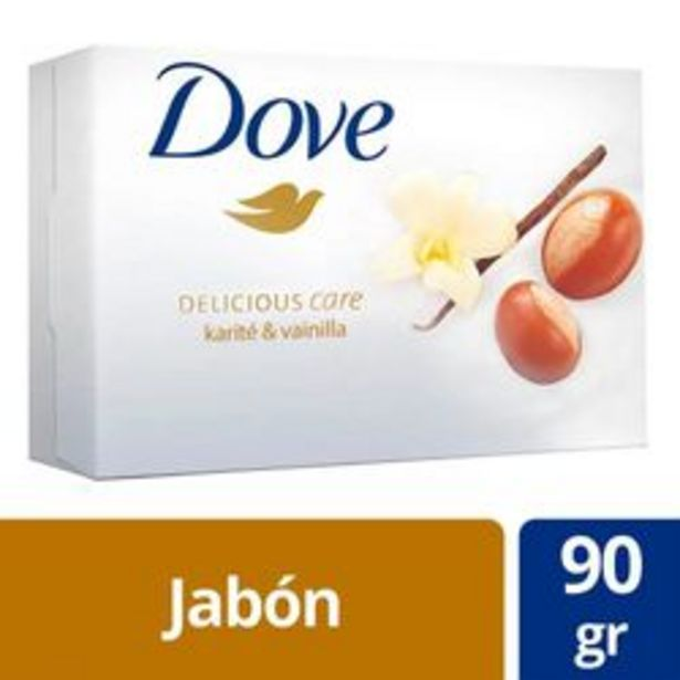 Oferta de Jabón en Barra Dove Delicious Care Karite y Vainilla 90 Gr. 1 U. por $61