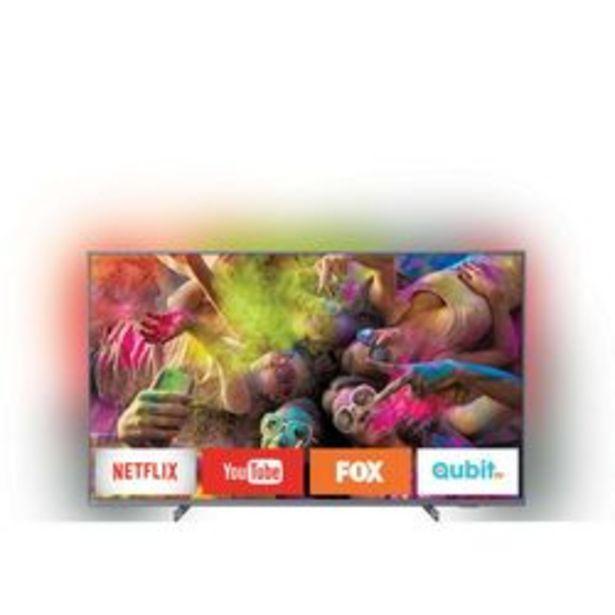 "Oferta de Smart TV LED Philips 65 "" 4K Ultra HD 65PUD6794/77 por $102,999"