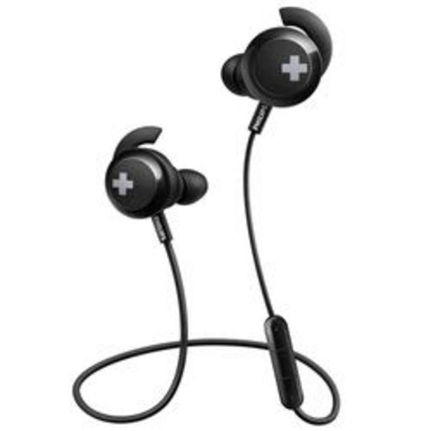 Oferta de Auriculares Audio USB Philips bt bass SHB4305BK-00 Negro por $2,699