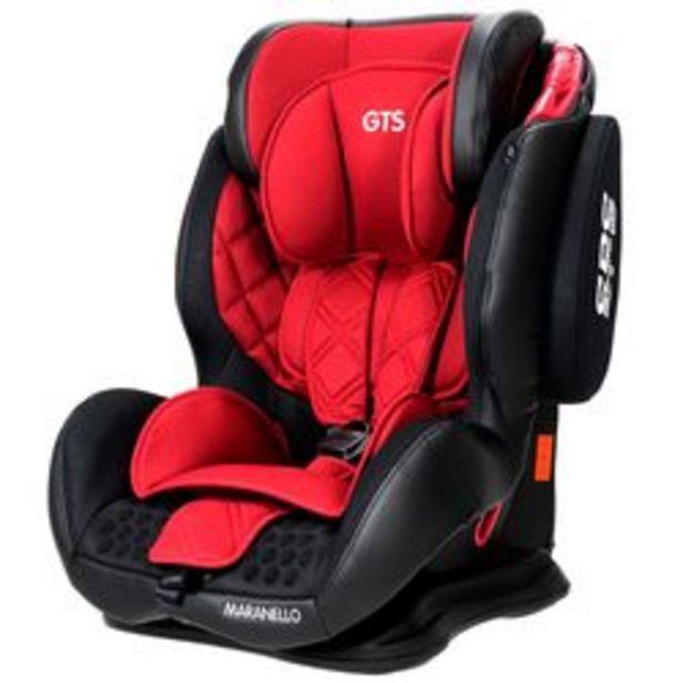 Oferta de Butaca para Auto GTS Maranello Rojo desde 9 hasta 36 Kg. por $19,799