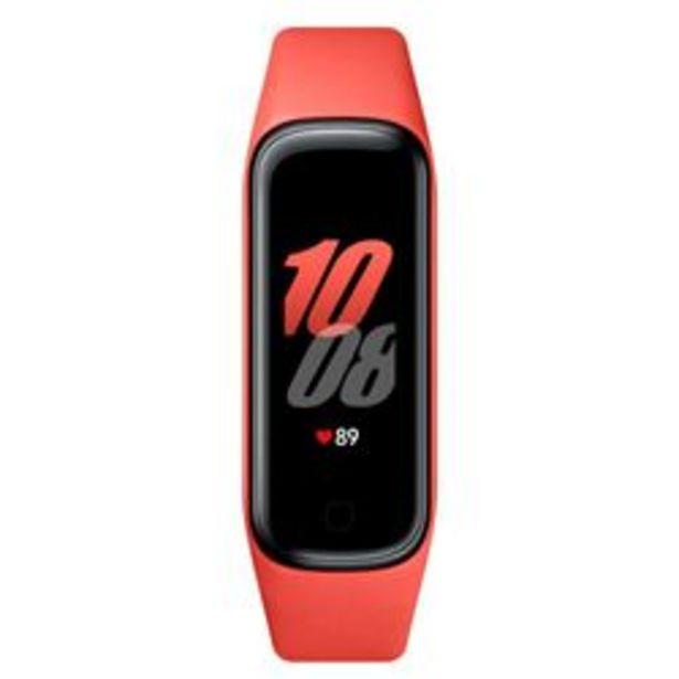 Oferta de Fitband Samsung Galaxy Fit 2 Rojo por $4,999