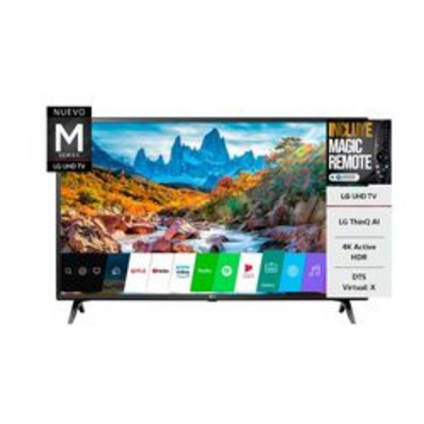 "Oferta de Smart TV LED LG 49 "" 4K Ultra HD 49um7360 por $66,999"