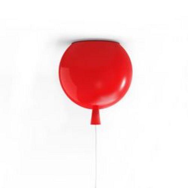 Oferta de Lámpara de Techo E-27 Gato Balloon S 7 W. 25 x 25 Cm. Rojo U. por $3,992