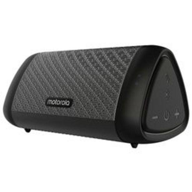 Oferta de Parlante Portátil Motorola Sonic Sub 530 Negro por $5,733
