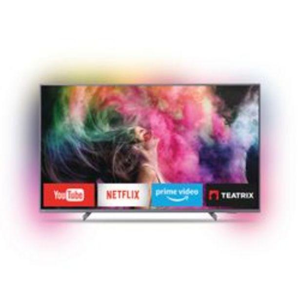 "Oferta de Smart TV Philips 65 "" 4K Ultra HD 65PUD6794/77 por $124,999"