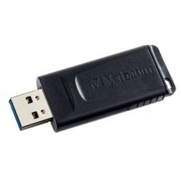 Oferta de Pendrive Verbatim  slider  16 GB por $399
