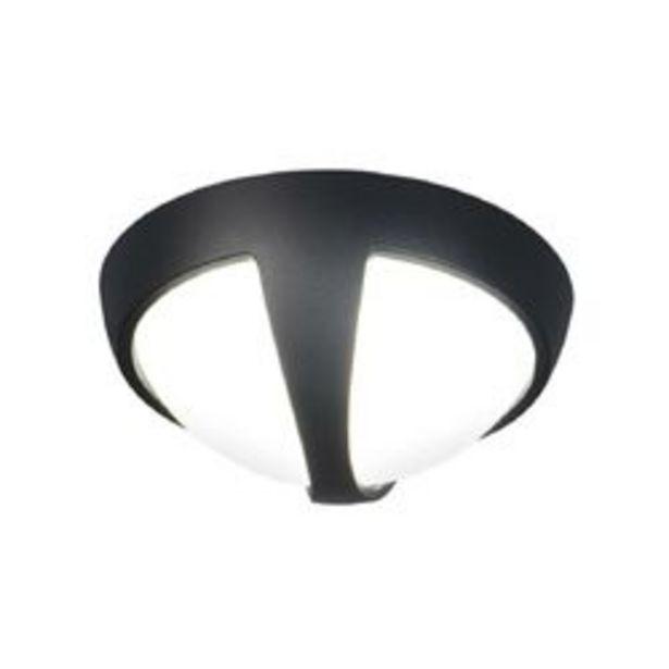 Oferta de Aplique de Pared LED Artelum Linea   15 W. 26 x 26 Cm. Negro 1 U. por $1,633