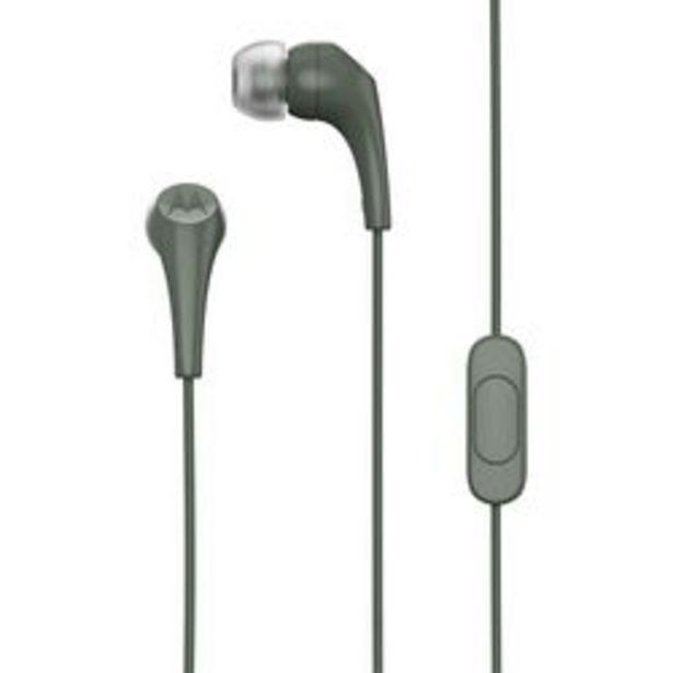 Oferta de Auriculares para Celular 3.5 mm Motorola Earbuds 2 Verde por $540