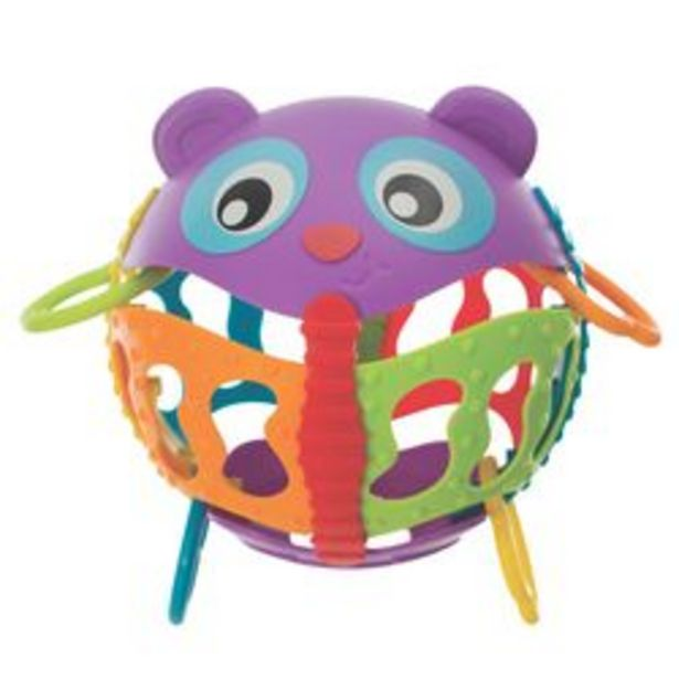 Oferta de Sonajero Playgro Roly Poly Activity Ball Plástico por $1,479