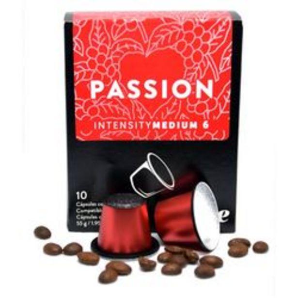 Oferta de Cápsulas de Café Espresso The Coffee Store Medio x 10 C. por $519