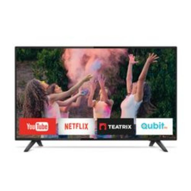 "Oferta de Smart TV Philips 43 "" Full HD 43PFG5813/77 por $39,999"