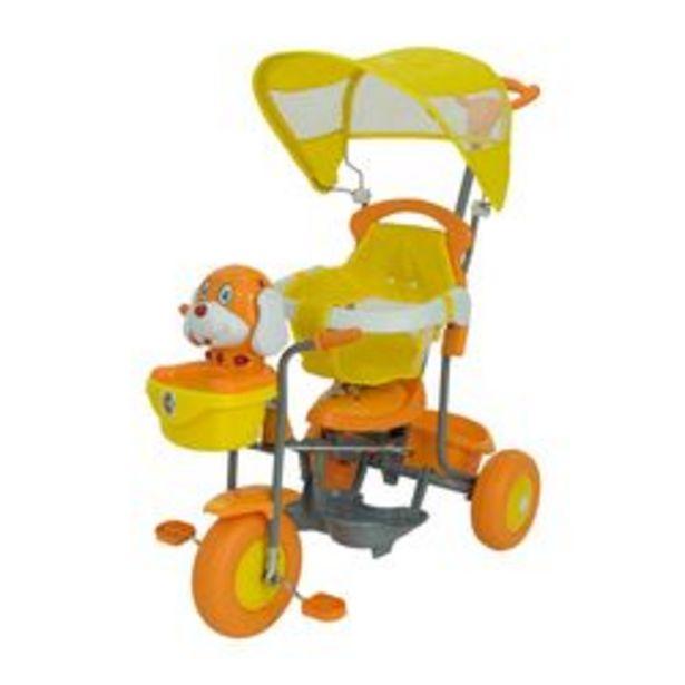 Oferta de Triciclo Bebitos PERRO XG-3412EA Amarillo por $7,699