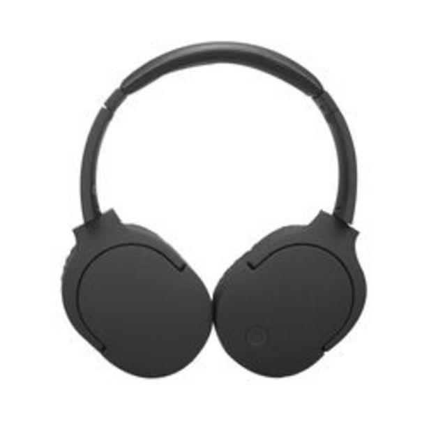 Oferta de Auriculares Audio Bluetooth PCBOX PCB-H900BT Negro por $2,999