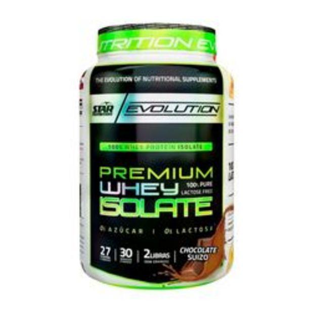 Oferta de Proteína Aislada Star Nutrition Iso Whey  Chocolate 1 Kg. por $2,199