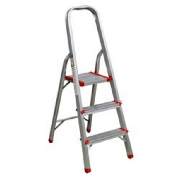 Oferta de Escalera Plegable  Hogareña Plus Furniture por $5,19