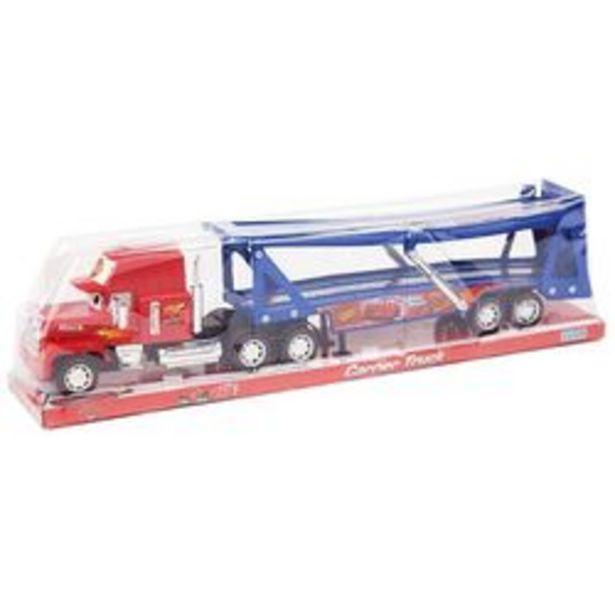 Oferta de Camión Ditoys Carrier Truck Cars a Friccion por $1,909