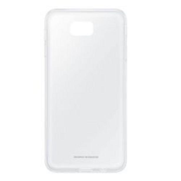 Oferta de Samsung Clear Cover J7 Prime G610 Transparente por $299