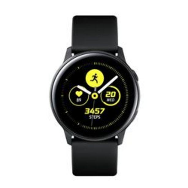Oferta de SmartWatch Samsung Galaxy Watch Active SM-R500Negro (Malla Negro) por $21,499