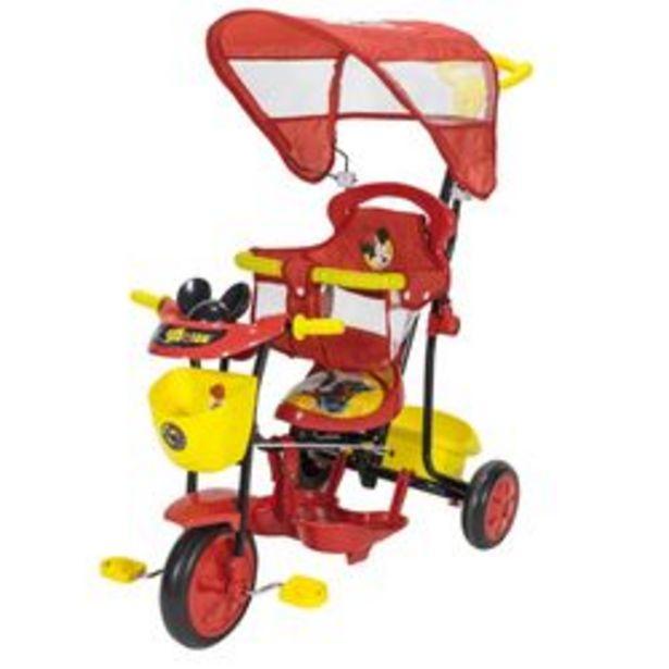 Oferta de Triciclo Disney Xg - 8001 Mickey Rojo y Amarillo por $8,799