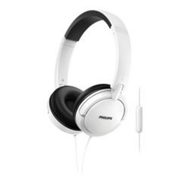 Oferta de Auriculares 3.5 mm Philips SHL5005WT/00 Blanco por $1,499