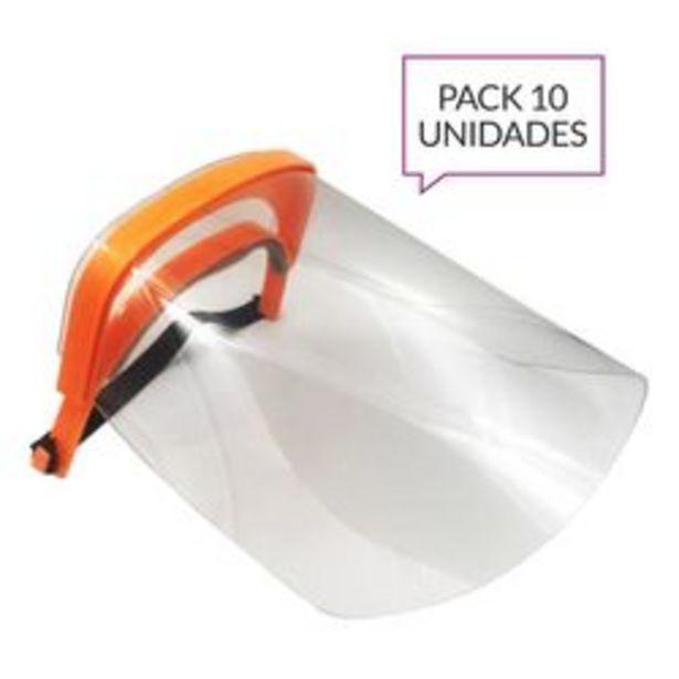Oferta de Máscaras Tivoli MFT-19V10 Plástico x 10 U. por $1,89
