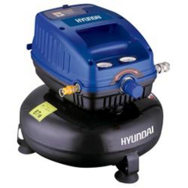 Oferta de Mini Compresor Hyundai 12 lts S/ Aceite por $9,92