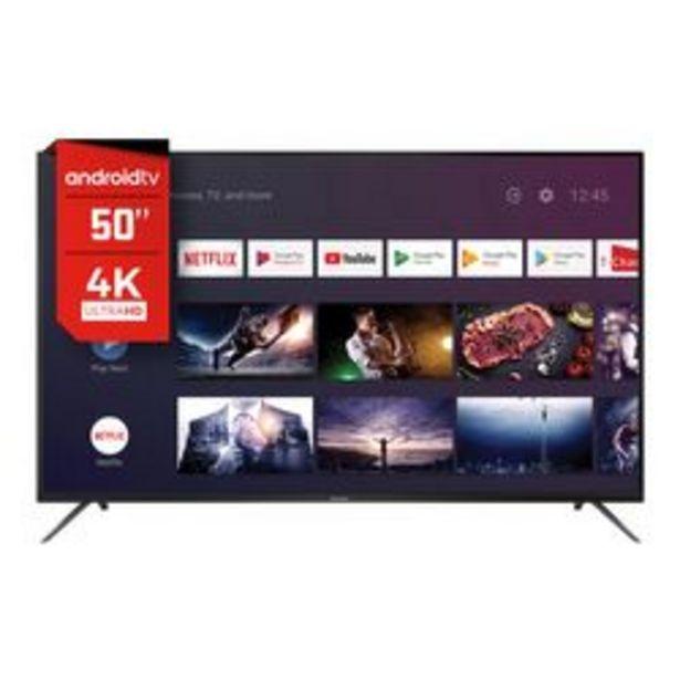 """Oferta de Smart TV HITACHI 50 """" 4K Ultra HD CDH-LE504KSMART20 por $51,999"""