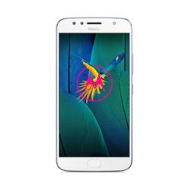 Oferta de Celular Liberado Motorola G5S Plus XT1800 Azul 32 GB por $34,999