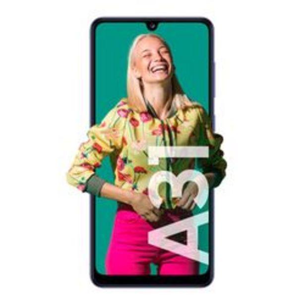 Oferta de Celular Libre Samsung A31 Azul por $39,999
