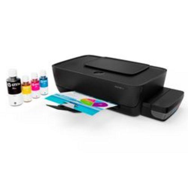 Oferta de Impresora Monofunción HP InkTank 115 por $11,999