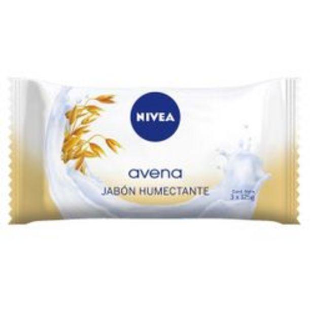 Oferta de Jabón en Barra Nivea Avena 125 Gr. 3 U. por $109