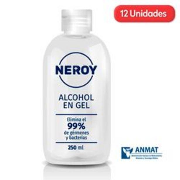 Oferta de Alcoholes en Gel Neroy Botella 250ml x 12 U. por $2,599