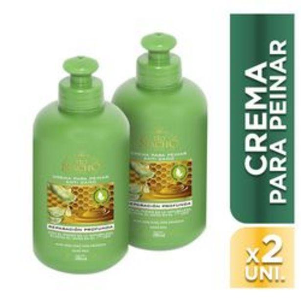 Oferta de Crema para Peinar Tio Nacho Aloe Vera Packx2 250 Ml por $398