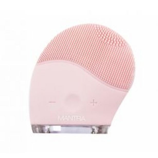 Oferta de Cepillo Facial Mantra Beauty Silicone Brush por $1,85