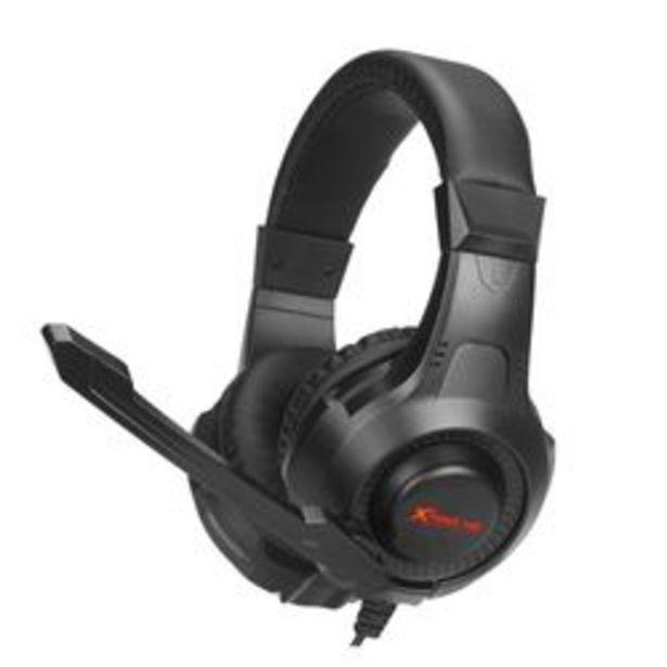 Oferta de Auriculares Gaming Xtrike Me HP-311 Negro por $2,599