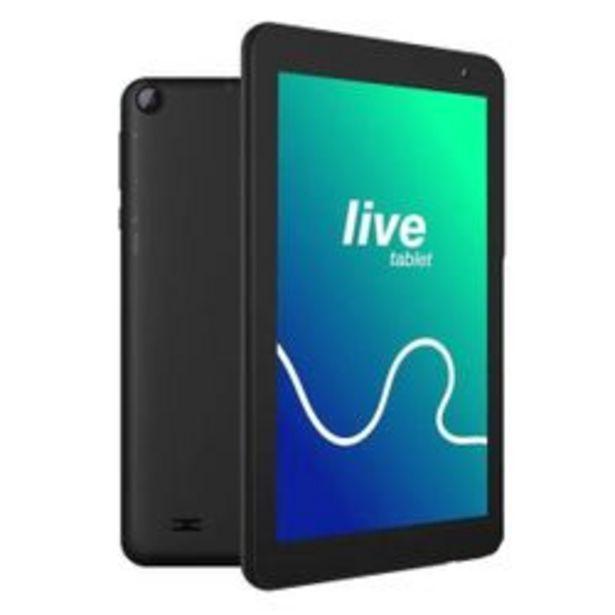 """Oferta de Tablet PCBOX Live 7 """" MTK Negro 16 GB por $8,31"""