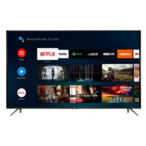 """Oferta de Smart TV RCA 50 """" 4K Ultra HD X50ANDTV por $45,999"""