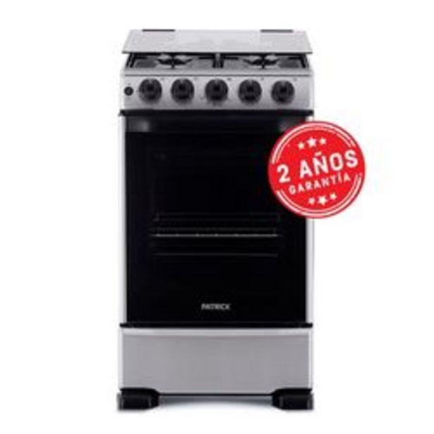 Oferta de Cocina Patrick 50 Cm. CP9750I Multigas Inoxidable por $39,999