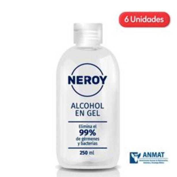 Oferta de Alcoholes en Gel Neroy Botella 250ml x 6 U. por $1,311