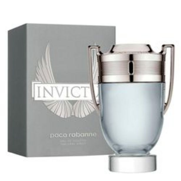 Oferta de Perfume Hombre Paco Rabanne Invictus 100 ml 100ml por $7,499