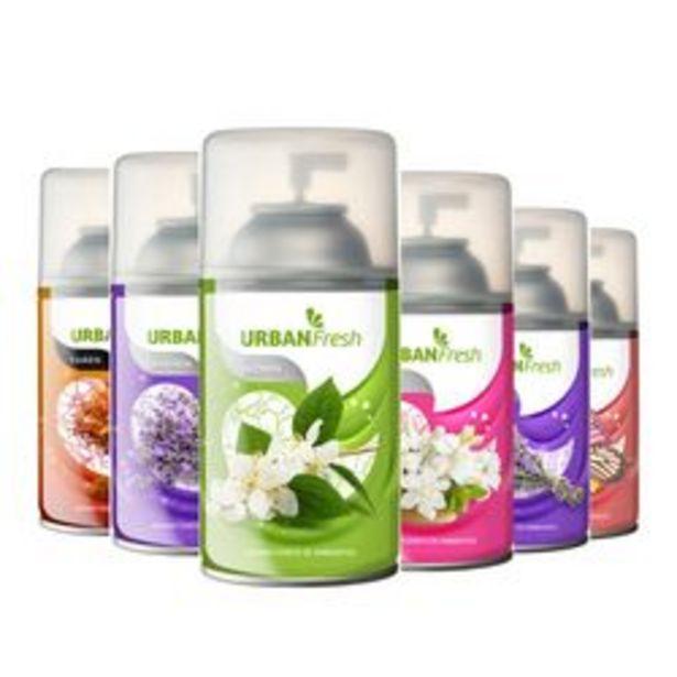 Oferta de Pack de Desodorante de Ambiente Shoppy Aerosoles Florales 6 U. por $1,238
