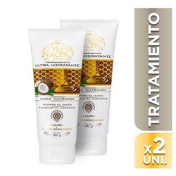 Oferta de Tratamiento Tio Nacho Ultra HIdratante Packx2 200 Ml por $476
