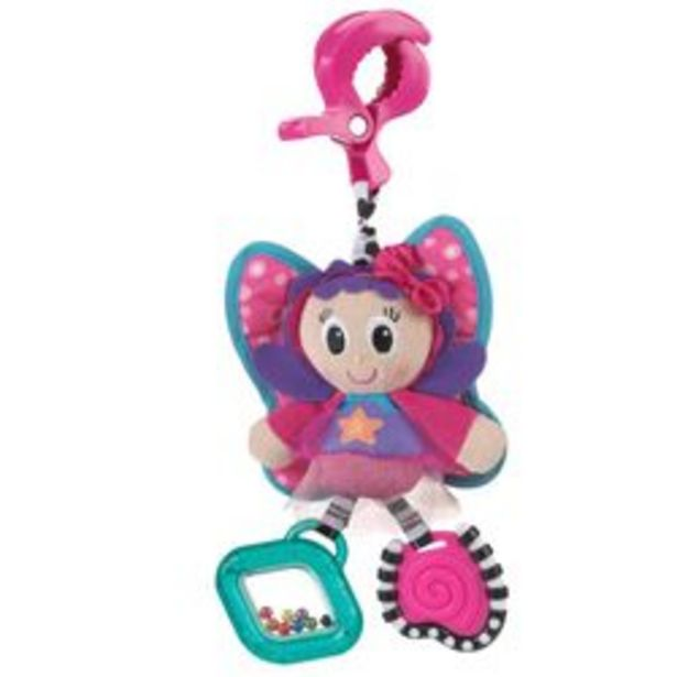 Oferta de Mordillo con Peluche Playgro Dingly Dangly Floss The Fairy por $1,979