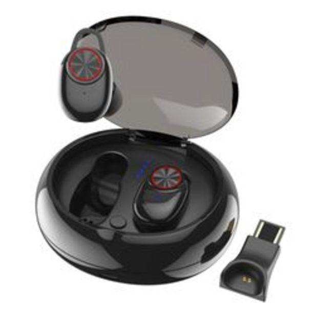 Oferta de Auriculares Inalámbrico GM V5 Negro por $2,699