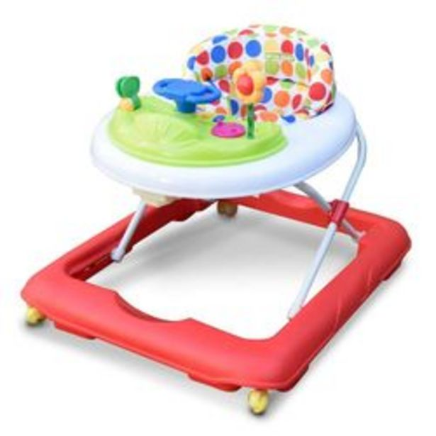 Oferta de Andador Mega Baby Andador Rojo por $4,499